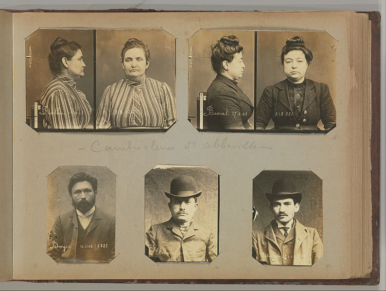Album of Paris Crime Scenes Attributed to Alphonse Bertillon. DP263712